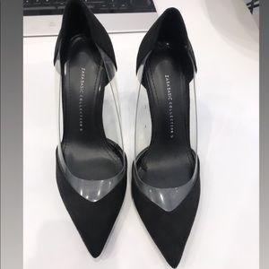 Zara black stilettos